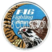 F-16 FIGHTING FALCON SWIRL INSIGNIA PATCH: BELGIAN AIR FORCE 31 SMD TIGER SQN