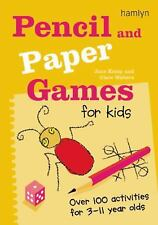 Pencil and Paper Games for Kids: Over 100 Activities for 3-11 Year Old-ExLibrary