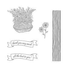 "BRAND NEW Stampin Up ""BASKET FOR YOU"" - Photopolymer Stamp Set"