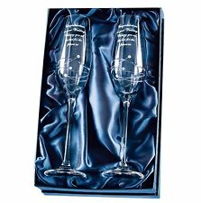 This Special Day Champagne Flute Set + Free Personalised Engraving (optional)