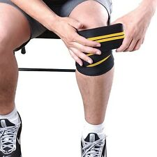 New Gold's Gym Knee Wraps Increase Heavy Duty Wraps For Joint Support NIB