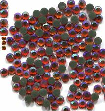Rhinestones AB FIRE OPAL   2mm ss6 Hot Fix 1 gross