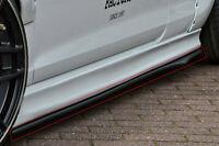 Cup2 Seitenschweller Sideskirts Seitenflaps aus ABS für Suzuki Swift Sport FZ/NZ