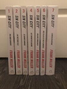 Collection Complete Roman Livre Manga Sin City Rackham Paru En 2013 Tome 1 a 7