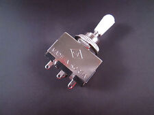 3 Way Toggle Switch Pickup Selector For Electric Guitar , Box Style White Tip