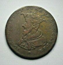 Lancaster halfpenny Conder token 1792 - John of Gaunt - D&H 29