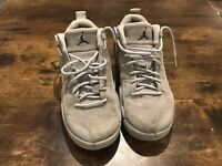 Nike Air Jordan 12 Retro Low GS Size 6Y Wolf Grey Blue Lime 308305-002