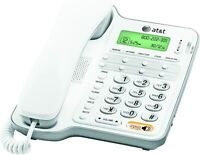 AT&T CL2909 Corded Phone Speakerphone Caller ID Call Waiting White
