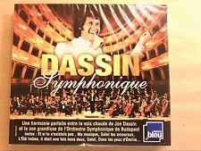 CD + DVD / JOE DASSIN / DASSIN SYMPHONIQUE / NEUF SOUS CELLO