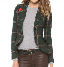 Smythe Les Vestes Plaid Hunting Wool Blazer Jacket 6 (runs small, fits 2) BNWOT