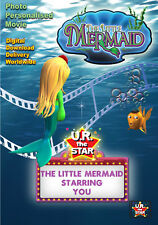 The Little Mermaid Personalised Movie starring YOU!!  Digital Download $39.95