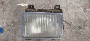 95-97 Chevy Blazer Passenger Right Sealed Beam Headlight w Mounting Bucket, Trim