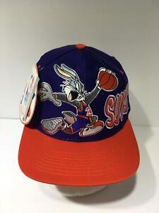 Vintage 1993 NBA Phoenix Suns Bugs Bunny Logo 7 Snapback Cap Hat OSFW NWT