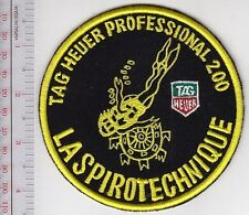SCUBA Diving France La Spirotechnique Tag Heuer Professional 200 Watch Patch