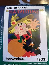 "New listing Fall Harvestime House Banner 28"" x 44"""