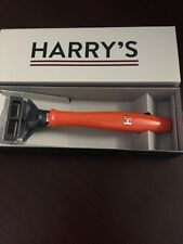 Two Harry's Truman Original Orange Razor in Box Ships Free