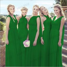 Long New Formal Convertible Bridesmaid Dress Evening Party Prom Ball Gowns 6-26
