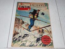 TINTIN 14/04 1955 N°338 HERGE AFFAIRE TOURNESOL DAN COOPER WEINBERG BRISTOL 173