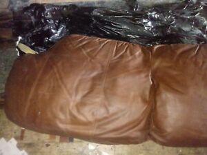 Leather Couch back cushion replacement Cabo Chestnut Tufted
