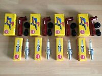 YAMAHA XJ900 S DIVERSION 1995-2004 NGK SPARK PLUGS AND CAPS FREE POST!