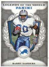 2017 Panini Brand Football Legends of the Shield #13 Barry Sanders Lions