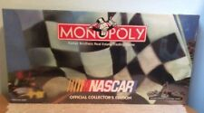 Monopoly NASCAR Official Collector's Edition 1997 Pewter Pieces Factory Sealed