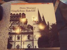 PIETRO MASCAGNI Guglielmo Ratcliff (classical) 3LP box Archivio Made in Italy