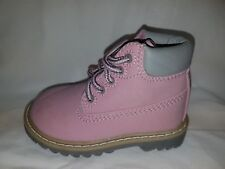 MOTHERCARE GIRLS BABY INFANT PINK BOOTS NEW