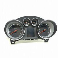 Opel Astra 2013 Diesel Km/H Compteur de Vitesse Instrument Cluster 13433806