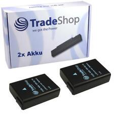 2x AKKU für Nikon D3200 D-3200 D 3200 ersetzt EN-EL14 mit Infochip
