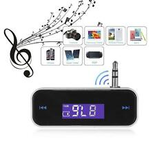 Car Wireless MP3 FM Radio Transmitter 3.5mm Jack For Mobile Cell Phone PC Tablet