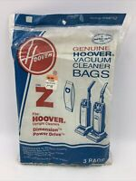 Hoover Type Z Vacuum cleaner Replacement Bags 4010075Z upright 1-3 pack READ