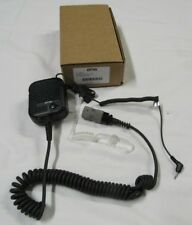 "Us Military Otto V2-10480 Evoln, U329 ""Trucker Mic"" With Ear Bud for Mbit Used"