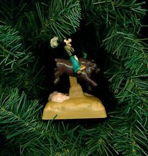 Disney Goofy windup toy Bronco busting custom themed Christmas tree ornament