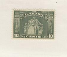 CANADA (MK3380) # 209 VF-MNH 10cts  JUL 1934 /LOYALISTS STATUE/GREEN CAT VAL $80