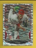 Ian Kennedy 2013 Bowman SILVER ICE ERROR Card # 30 NNOF No Name on Front