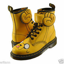 Dr. Martens X Adventure Time Jake Yellow Leather Mens US10 Women US11 Boots NEW
