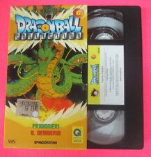 VHS film DRAGON BALL COLLECTION 6 Prigionieri Il desiderio 2001 (F107) no dvd