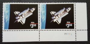 USA Space Ship Shuttle Challenger 1v xB2 Stamps Mint NH (Original Print in 1995)