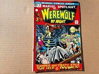 Marvel Spotlight No. 4 Werewolf By Night. June 1972. Bronze Age Comic Book