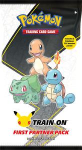Pokemon First Partner Pack Kanto - 3 Jumbos + 2 Booster Packs - PRE ORDER