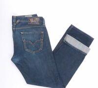 Diesel Jeans Larkee W32 L32 blau stonewashed 32/32 Straight -B3091