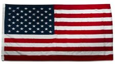 2x3 USA American U.S.A. America 50 Star Flag 2'x3' House Banner Pole (SLEEVED)