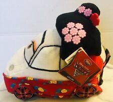 Disney Store Pixar CARS 2 Okuni Kabuki Dancer In Kimono Plush Toy Bean Bag