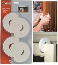 4 x Door Guard Finger Protector Jammer Stopper Baby Child Kids Safety Foam White