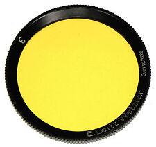 Leica Black Rim Yellow 3 Filter for 5cm f2 Summar  #1