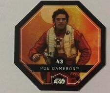 STAR WARS Jeton 43 POE DAMERON Cosmic Shells E.Leclerc Collector Image