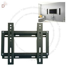 "TV WALL MOUNT FIXED WALL BRACKET 13"" - 27"" LED LCD VESA 50 75 100 200"