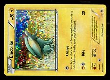 PROMO POKEMON MAC DO 2015 MCDONALD'S CARD HOLO N°  7/12 ELECTRIKE