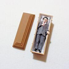 Preiser 29111 H0, Vampir liegend im Sarg, 1 Figur, handbemalt, 1:87, Neu